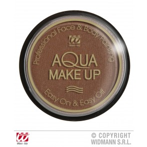 aqua make-up 15gr, bruin
