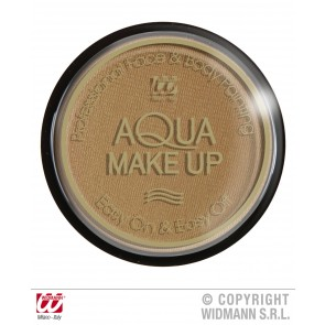aqua make-up 15gr, donker beige