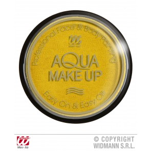 aqua make-up 15gr, geel