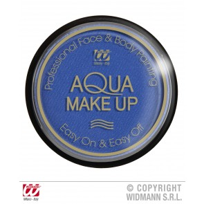 aqua make-up 15gr, blauw