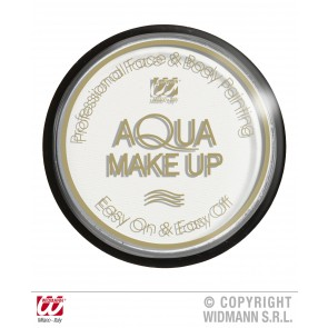 aqua make-up 30gr, wit