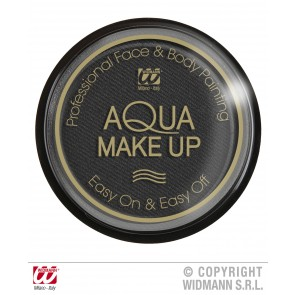 aqua make-up 30gr, zwart