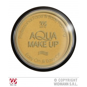 aqua make-up metalic 15gr, goud
