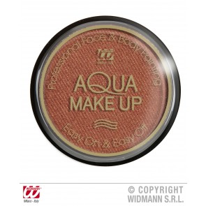 aqua make-up metalic 15gr, brons