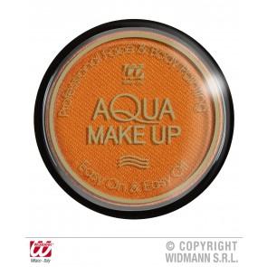 aqua make-up metalic 15gr, oranje