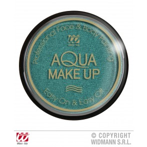 aqua make-up metalic 15gr, groen