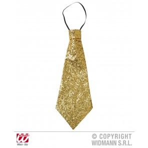 stropdas lurex, goud