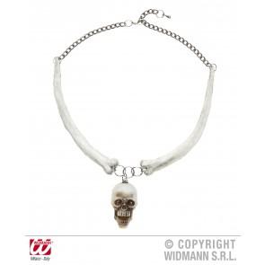 ketting met schedels en botten