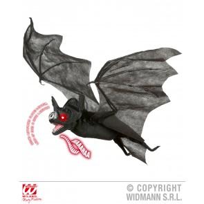 luxe vleermuis met bewegende vleugels, licht en geluid