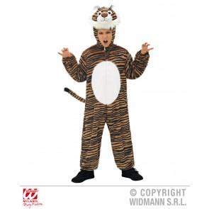 Pluche tijger kind