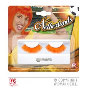oorwimpers oranje