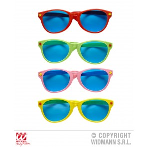 grote zonnebril meerkleurig