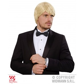 pruik droomhaar, simon blond