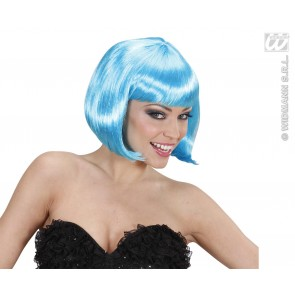 pruik, lovely azuur blauw
