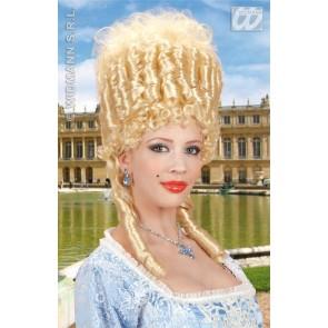 pruik, marie antoinette blond