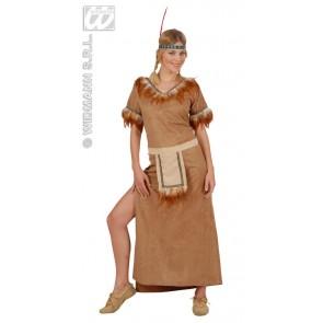 Item:Indiaanse Mohawk, Suede