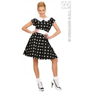 Item:Jurk 50's Met Petticoat, Zwart