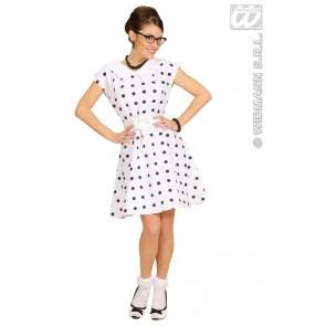 Item:Jurk 50's Met Petticoat, Wit