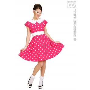 Item:Jurk 50's Met Petticoat, Rose