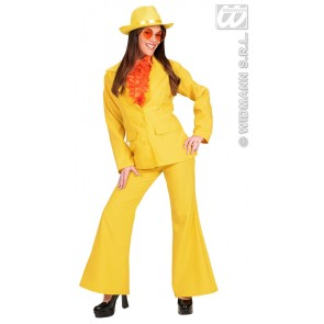 Item:Party Kostuum Dame, Neon Geel