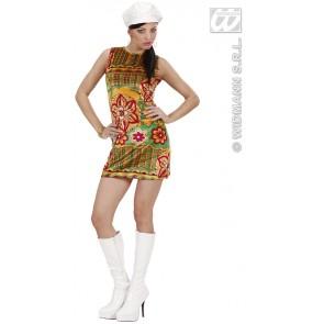 Item:60's Mode Meisje Fluweel Met Muts