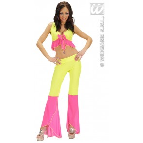 Item:Samba Top En Broek Neon Geel/rose
